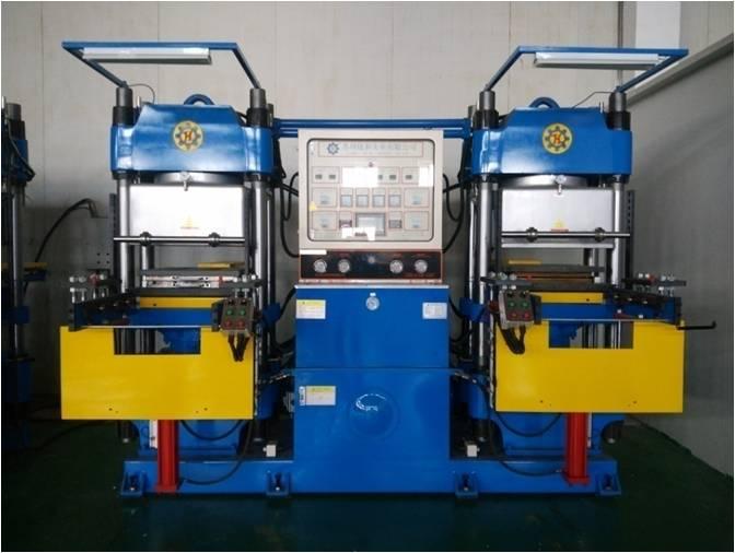 250T抽真空平板硫化成型机